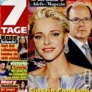 Prince Albert II and Charlene Wittstock - 454 x 587