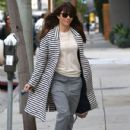 Jessica Biel stops by her restaurant Au Fudge for lunch in West Hollywood, California on January 24, 2017 - 431 x 600