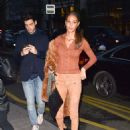 Joan Smalls – Arriving at the Royal Monceau Hotel in Paris