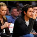Zachary Levi and Caitlin Crosby - 454 x 312