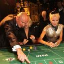 Georges Kern, Sydney Finch and Daphne Guinness attend Roger Dubuis - Soiree Monegasque at Hotel de Paris on October 20, 2011 in Monaco, Monaco - 454 x 309
