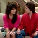Tiffani Thiessen and Scott Baio
