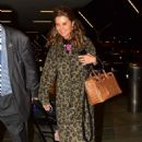 Maria Shriver – Arrives at LAX Airport in Los Angeles