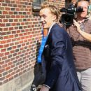 Tom Felton was spotted leaving ABC studios, July 12, in New York City