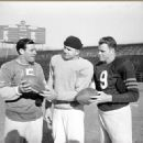 Ed Brown, Mike Ditka & Bill Wade of The Chicago Bears