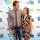 Kristen Bell with Dax Shepard at the 2012 Do Something Awards (August 19)