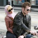 Cam Gigandet Filming 'Burlesque' In West Hollywood 5