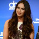Megan Fox at the 70th Annual Golden Globes Awards Nominations at the Beverly Hilton Hotel on December 13, 2012 in Los Angeles