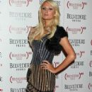 Paris Hilton - Belvedere 'RED' special edition bottle benefit launch party at Avalon on February 10, 2011 in Hollywood, California