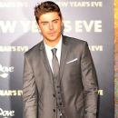 Zac Efron attending the Los Angeles premiere of New Year's Eve held at the Grauman's Chinese Theatre in Hollywood 12/05/2011