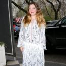 Drew Barrymore was spotted out and about in New York City, New York on April 12, 2016