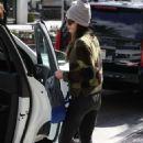 Jordana Brewster in Jeans – Shopping in Beverly Hills