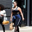 Ashley Graham – Leaving the Dogpound Gym in New York City - 454 x 568