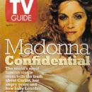 Madonna - TV Guide Magazine Cover [United States] (11 April 1998)