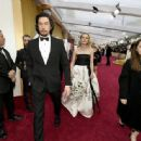 Adam Driver and Joanne Tucker At The 92nd Annual Academy Awards - Arrivals - 454 x 336