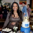 Christina Milian – Intimate baby shower held in Westwood - 454 x 558