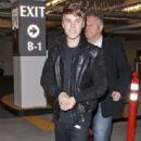 Justin Bieber leaving Spago Restaurant  in Beverly Hills December 15, 2011