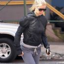 Gwyneth Paltrow - Running Home From The Tracy Anderson Gym In New York City - April 10, 2010