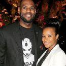 LeBron James and Savannah Brinson - 300 x 400