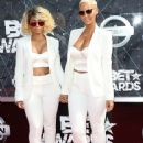 Blac Chyna and Amber Rose Attend the 2015 BET Awards at the Microsoft Theater  in Los Angeles, California - June 28, 2015 - 454 x 607