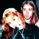 Kurt Cobain and Tracy Marander