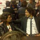 Giulia Michelini and Marco Bocci