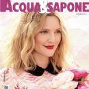 Drew Barrymore - Acqua & Sapone Magazine Cover [Italy] (October 2015)