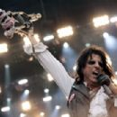 Alice Cooper performs during Fire Fight Australia at ANZ Stadium on February 16, 2020 in Sydney, Australia - 454 x 303