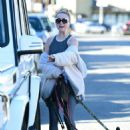 Alessandra Torresani – Walking her dogs in Los Angeles - 454 x 637