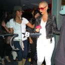 Blac Chyna and Amber Rose at Pinz Bowling Center in Los Angeles - November 5, 2014
