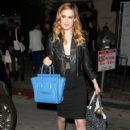 Rumer Willis leaving Elodie K in West Hollywood, California on April 4, 2014