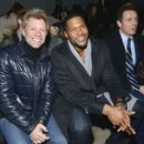 Jon Bon Jovi, Michael Strahan & Chris Cuomo attend the Kenneth Cole collection fashion show on February 10, 2014 in NYC - 454 x 392