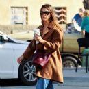 Jessica Alba – On a coffee run in Palm Springs - 454 x 681
