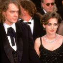 Winona Ryder and David Pirner At The 67th Annual Academy Awards - Arrivals (1995) - 454 x 672