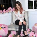 SHENAE GRIMES at All Things Fabulous for Angry Birds Stella Event in Venice