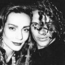 Michael Hutchence and Virginia Hey - 454 x 329