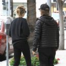 David Spade is spotted out and about with his girlfriend in Beverly Hills, California on January 9, 2017