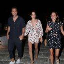 Ana Beatriz Barros and husband Karim El Chiaty – Night out in Mykonos - 454 x 566
