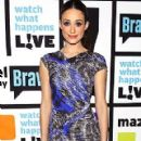 Emmy Rossum Appears on 'Watch What Happens Live'