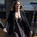 Heidi Klum spotted on the set of 'Ocean's Eight' in Los Angeles, California on March 6, 2017 - 429 x 600