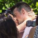 Megan Fox and Josh Duhamel – Shooting a scene for 'Think Like a Dog' in New Orleans