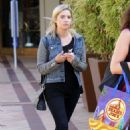 Ashley Benson Out and About In La