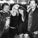 Jennie Garth and her new beau Michael Shimbo hangout with Shannen Doherty and her husband Kurt Iswarienko