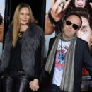 Connie Nielsen & Lars Ulrich at the premiere of 'Get Him To The Greek' on May 25, 2010 - 400 x 594