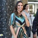 Christine Lampard filming for the Lorraine show in London - 454 x 681
