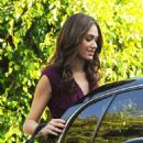 Emmy Rossum - On Her Way To A Dinner Date In Hollywood, 2009-11-04