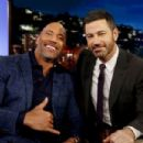 Dwayne Johnson at 'Jimmy Kimmel Live!' (December 2017) - 454 x 303
