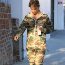 Halle Berry in Jumpsuit – Out in Los Angeles