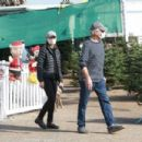 Calista Flockhart – Christmas Tree shopping candids in Santa Monica