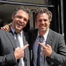 Mark Ruffalo, with his $tunt Double, Anthony Molinari - 454 x 341
